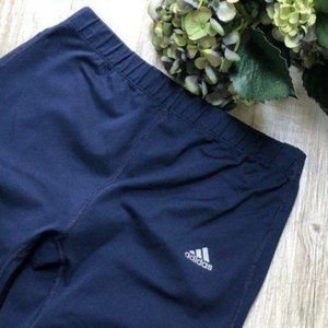 adidas Blue Work Out Yoga Pants